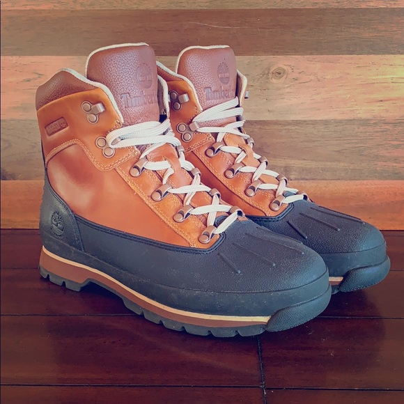 2a2bc8372af Timberland Water-proof Euro Hiker Shell Toe Boots